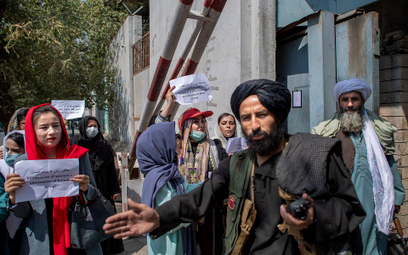 W Kabulu i innych większych miastach Afganistanu nie ustają protesty kobiet, które domagają się swoi