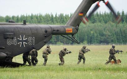 Niemcy: elitarna jednostka zgubiła amunicje i materiały wybuchowe
