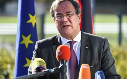 Armin Laschet jest politykiem rządzącej w Niemczech CDU