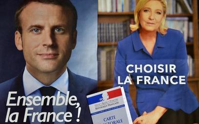 Francja: Emmanuel Macron i Marine Le Pen - grabarze starego ładu