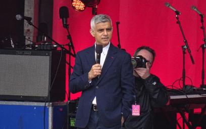Sadiq Khan w zeszłym roku został ponownie wybrany na stanowisko burmistrza Londynu.