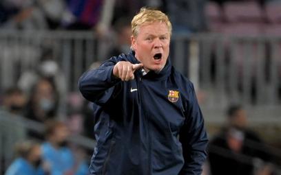 Ronald Koeman wkrótce zapewne pożegna się z Barceloną