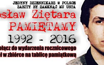 24. rocznica śmierci Jarosława Ziętary. W Poznaniu palą znicze pod jego domem