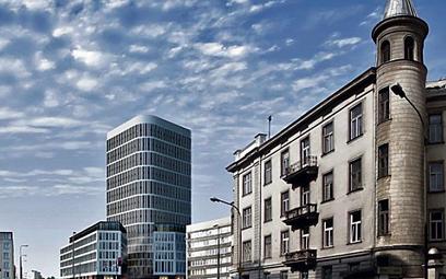 90-metrowy wieżowiec powstaje przy pl. Unii Lubelskiej (fot. kuryłowicz&associates)