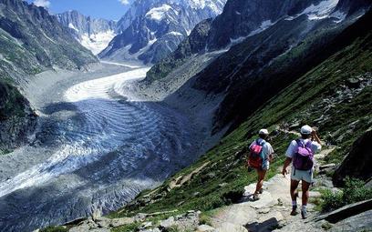 Lodowce umierają w Alpach