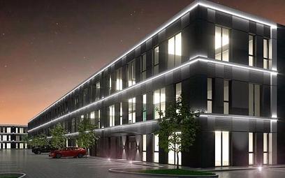 Ideal Idea City Park – magazyn w końcowej fazie budowy w Raszynie pod Warszawą