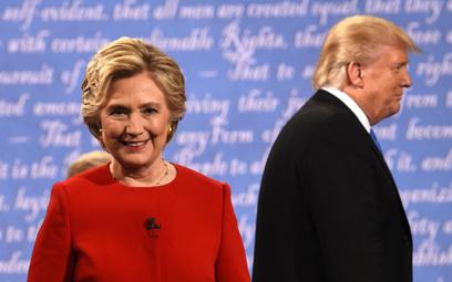 Giełdy uznały, że Clinton pokonała Trumpa