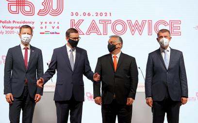Nieoficjalnie: PiS chce zawiesić udział w spotkaniach Grupy Wyszehradzkiej