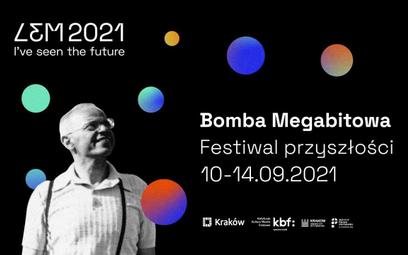 Plakat reklamujący Festiwal przyszłości w Krakowie