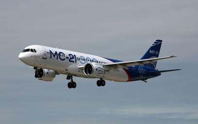 Dziewiczy lot nowego rosyjskiego samolotu pasażerskiego