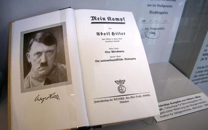 """W Niemczech przed wojną ukazało się 12,4 mln egzemplarzy """"Mein Kampf"""""""