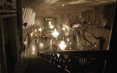 Kopalnia soli w Wieliczce – kaplica świętej Kingi.