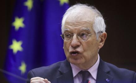 Josep Borrell, wysoki przedstawiciel Unii do spraw zagranicznych i polityki bezpieczeństwa