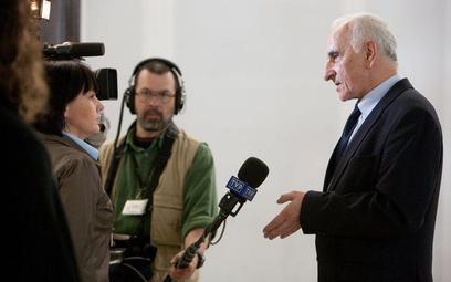 """Stanisław Żelichowski przyznawał w rozmowie z """"Rz"""", że nie chce, by go wybrano do Parlamentu Europej"""