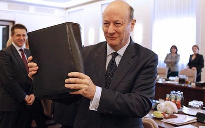 Jacek Rostowski z projektem budżetu na 2012 r.