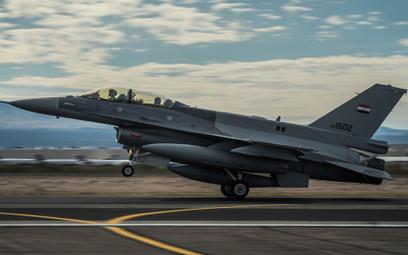 Irak zakupił 36 samolotów wielozadaniowych F-16 Block 52+, w tym 30 jednomiejscowych F-16C i sześć d