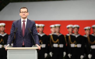 Mateusz Morawiecki na Westerplatte: Trudno o bardziej polskie miejsce