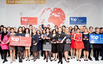 39 wyjątkowych pracodawców: Top Employers Polska 2016