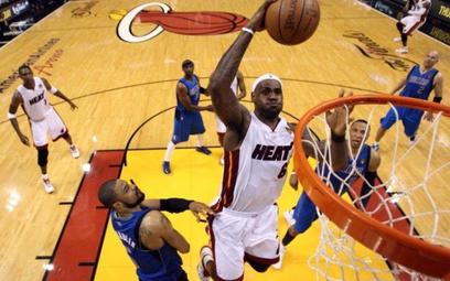 LeBron James w akcji