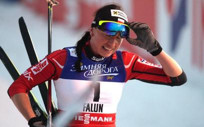 Justyna Kowalczyk nie kryła goryczy, bo wiedziała, że medal był w zasięgu ręki