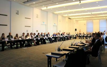 Do hotelu Andels w Łodzi zjechało ponad 40 delegatów z całej Europy i goście z innych krajów. Fot. J