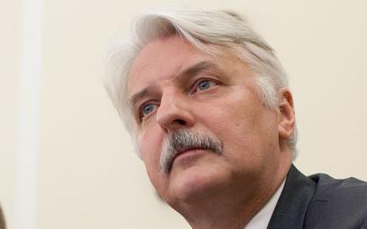 Witold Waszczykowski: słowa Sikorskiego nie mają pokrycia w rzeczywistości