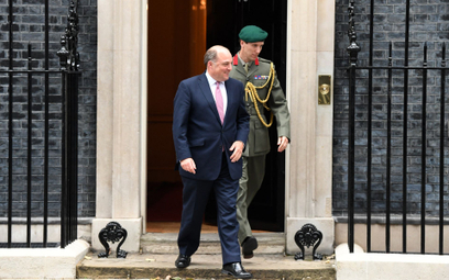 Ben Wallace, minister obrony Wielkiej Brytanii
