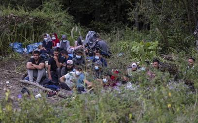 Na polsko-białoruską granicę wezwano dziś do grupy migrantów karetkę, ale medycy nie zostali dopuszc