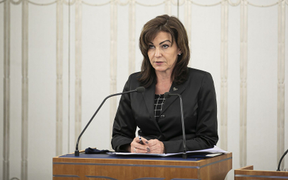 Gabriela Morawska-Stanecka, wicemarszałek Senatu
