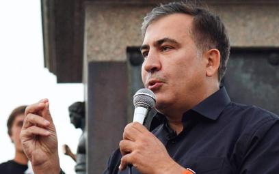Micheil Saakaszwili wciąż wraca do domu