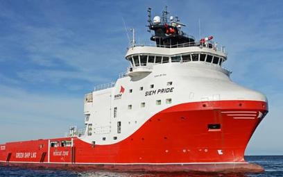 Pierwszy zbudowany w Polsce statek do obsługi platform naftowych typu PSV, z gazowym (LNG) napędem.