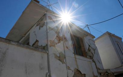 Seria silnych trzęsień ziemi w Grecji. 45 wstrząsów w ciągu doby