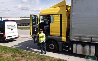 Kontrola drogowa listów przewozowych prowadzona przez WITD Katowice