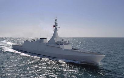 Jedna z eksportowych odmian korwety typu Gowind. Rys./Naval Group.