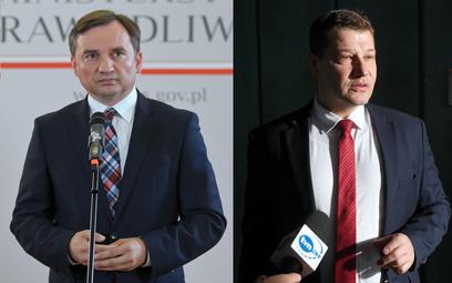 Zbigniew Ziobro i Piotr Schab
