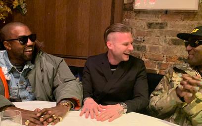 Fot: Kanye West, Matthew Williams i Virgil Abloh/ Kanye West Twitter