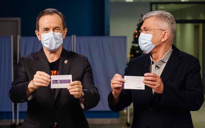 Grodzki i Karczewski zaszczepili się przeciw COVID-19
