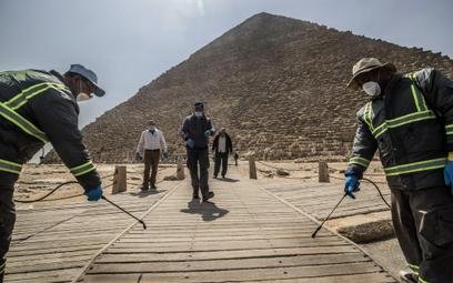 Egipt: Zanim wejdziesz do muzeum, zmierzymy ci temperaturę