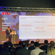 Aykan Zhanglei, CFO Huawei CEE&Nordic Region podczas Huawei Intelligent Finance Summit we Wiedniu, 1
