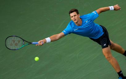 Hubert Hurkacz w ćwierćfinale turnieju ATP w Metz