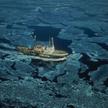 Statek ratowniczy w Cieśninie Beringa