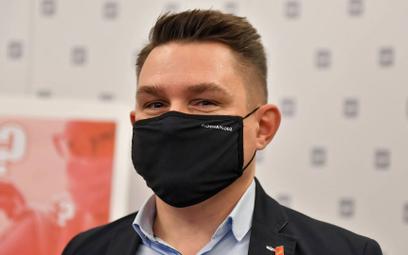 Przewodniczący Rady Miasta Łodzi Marcin Gołaszewski