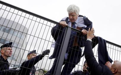 Pierre Plissonnier, szef HR w Air France ucieka przed