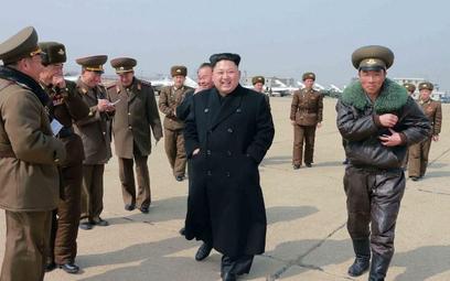 Przywódca Korei Północnej (AFP PHOTO / KCNA VIA KNS)