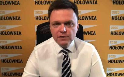 Szymon Hołownia: Wniosek o unieważnienie wyborów nawet jeśli wygram