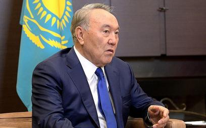 Pierwszy prezydent Kazachstanu Nursułtan Nazarbajew