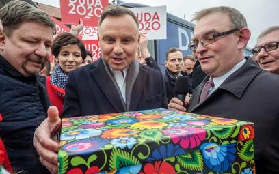 W pierwszą podróż w kampanii Andrzej Duda pojechał m.in. do Łowicza