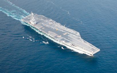 Prototypowy lotniskowiec atomowy USS Gerald R. Ford, najnowsza jednostka tej klasy amerykańskiej flo