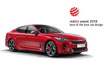 Czerwone kropki dla pięknych samochodów