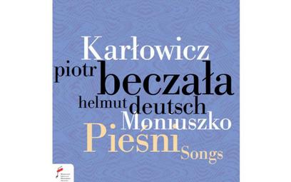 Piotr Beczała Karłowicz, Moniuszko, Pieśni CD, NIFC, 2020